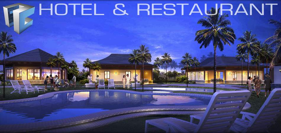 Real Home Quality Prefabricated Hotel & Restaurant Construction